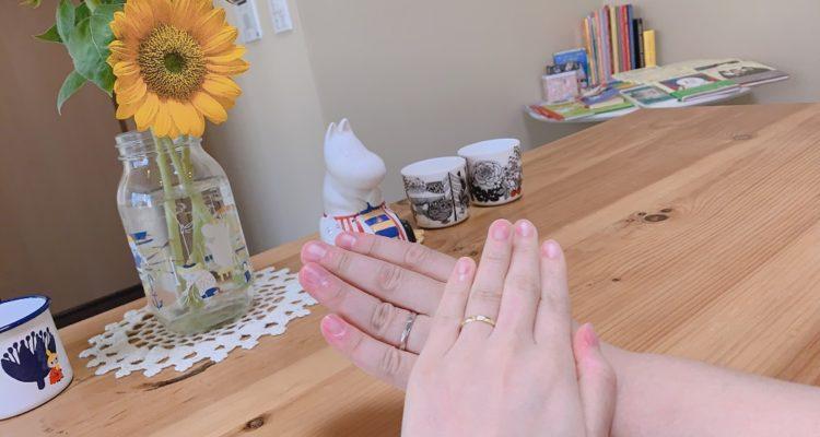 ムーミンの結婚指輪